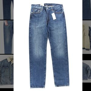 Levi's Made & Crafted Japanese Denim Rail Straight